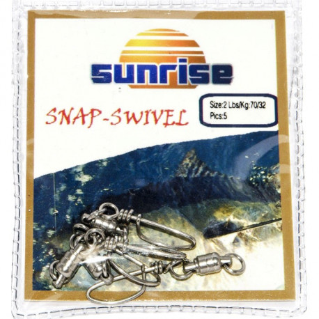 SUNRISE SNAP-SWIVEL